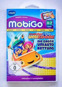 Vtech MobiGo Lernspiel  Team Umizoomi  4- 7 Jahre NEU