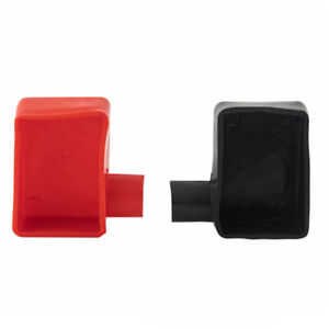 2PCS Car SUV Battery Terminal Insulator Wire Connectors Cap Covers Protector