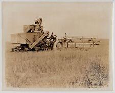 "Canada MÄHDRESCHER ""McCormick Deering"" HARVESTER * Vintage 30s Archives' Photo"