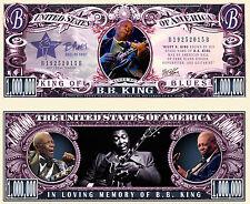 BB KING - BILLET 1 MILLION DOLLAR US! Collection Blues Guitare Lucille jazz B.B.