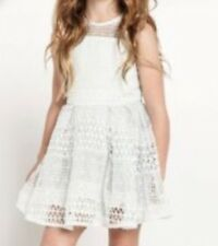 Barbot Junior Mesh Panelled Dress Age 6-7 Years (New With Tags) (RRP £65)