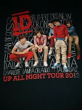 One Direction 1D Harry Styles Up All Night Tour 2012 Concert T Shirt Sz small D