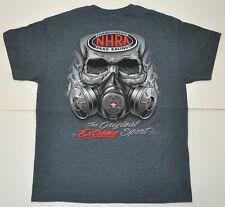 NHRA Drag Racing ORIGINAL EXTREME SPORT Gray T-Shirt LARGE