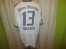 Bayern Monaco Adidas Trasferta Maglia 2002-2004 + N. 13 BALLACK taglia XL TOP