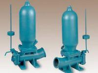 fuxus® Pompe Bélier Hydraulique irrigation qui ne Fonctionne qu'avec de l'Eau
