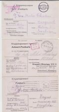 GERMANY WW II OFLAG 13B POW COVER COLLECTION