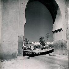 FEZ c. 1950 - Bab Segma et Cimetière Maroc - DIV1016