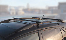 Streetwize Universal 125cm Anti Theft Locking Roof Rack Bars for Cars with Rails
