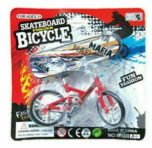 Finger Bike Bicycle+ Finger Board Boy Kid Children Wheel BMX Toy Gift