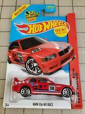 Hot Wheels 2014 Bmw E36 M3 Race Red #36 Hw Race