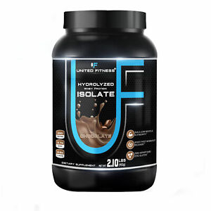 United Fitness Hydrolyzed Whey Protein Isolate,100% Grass-Fed (2 Pound,All)