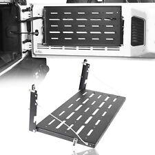 For Jeep Wrangler JK Tailgate Table Heavy Duty Rear Cargo Shelf Foldable 07-17