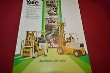 Yale 6000 7000 8000LBS Forklift Dealer's Brochure AMIL15 ver2