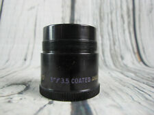 "TDC 5"" f/3.5 Tridar Projection Lens"