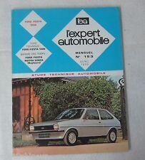 Revue technique EXPERT AUTOMOBILE 153 1979 Ford Fiesta 1300