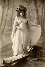 Antique Photo ... Fairy Queen Art Nouveau ... Photo Print  8x12