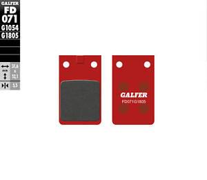 GALFER PASTIGLIE FRENO ANTERIORE FANTIC 125.1 TRIAL 1986 FD071