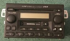Honda 6-Disc Changer Car Cd Player Radio Stereo Cassette 39100 S84 A300 Untested