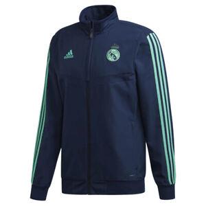 adidas Real Madrid CF Men's UCL Presentation Jacket - Navy - New