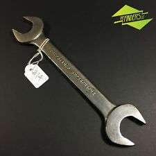 """VINTAGE DROPSTAMCO BRITISH-MADE 9/16"""" - 1/2"""" WHITWORTH SPANNER WRENCH #14"""