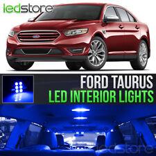 2010-2018 Ford Taurus Blue Interior LED Lights Kit Package