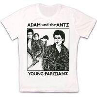 Adam And The Ants Young Parisians 70s New Wave Retro Vintage Unisex T Shirt 1145