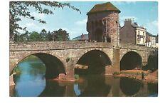 Postcard Monnow Bridge Monmouth Wales unposted  (B4c)