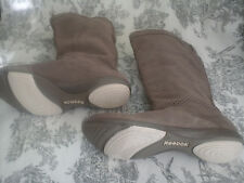 NEUF-BOTTES REEBOK CUIR Ultra confort T.40,5 taupe