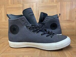 RARE🔥 Converse Chuck Taylor All Star II Boots HI Shield Charcoal Sz 12 153568C
