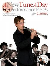 A New Tune a Day Pop Performances for Clarinet Book and Cd New 014041714