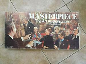 MASTERPIECE Board Game, 1970 Version, SPARE GAMES PARTS