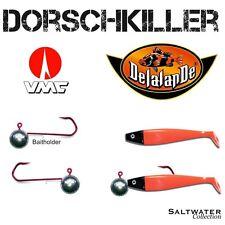 DORSCHKILLER - SET DELALANDE SHAD GT + VMC BAITHOLDER 8/0 50g