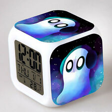 Game Undertale Theme LED Night Light Alarm Clock Timing Gift 10 Styles Design
