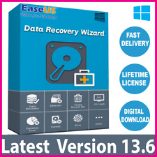 EaseUS Data Recovery Wizard v13.6 🔐Professional Lifetime License ✅ 1h Delivery
