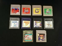 Nintendo Game Boy 10 Games Bundle -Pokemon, Yu-Gi-Oh!, Tetris, Mario- JP Import