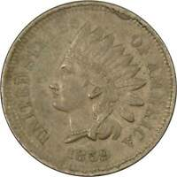 1859 1c Indian Head Copper-Nickel Cent Penny Coin XF EF Extremely Fine