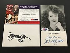 Lynn Redgrave Signed Photo PSADNA Authenticated Autograph F70366 Actress Van ArK