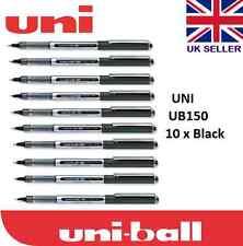 4 X Uni Ball Ojo Rollerball Pen UB-157 0.7mm Tinta Azul