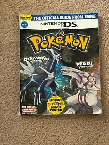 Pokemon Nintendo DS Diamond and Pearl Version Official Player's Guide