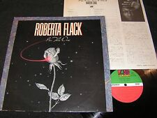 ROBERTA FLACK I'm The One / Japan LP 1982 ATLANTIC WARNER-PIONEER SD 19354