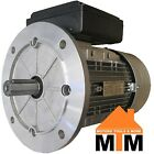 Single Phase Electric Motor 240v 0.37 kW 0.5 HP 1400rpm 4 Pole IMB5 B5 Flange