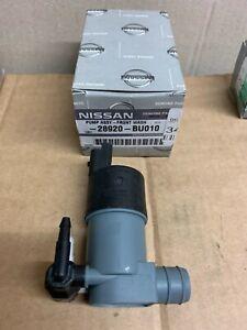 28920-BU010 Windscreen Washer Pump for Nissan Micra 2010- & Qashqai 2008-
