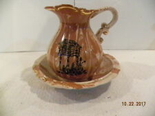 Small Wash Basin and Pitcher from Alaska