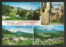 AD8406 Verbania - Provincia - Valle Antigorio - Crodo - Mozzio - Viceno - Vedute