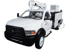 RAM 5500 W/MAINTAINER SERVICE BODY WHITE 1/34 DIECAST MODEL FIRST GEAR 10-4060