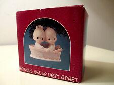 "Precious Moments ""Friends Never Drift Apart."" New Unopened Box, Vintage 1990"