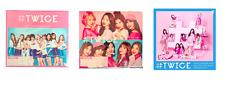 TWICE Japan Debut Album #TWICE 3 set: A + B + Regular Edition + 2 x Poster NEW