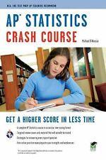 AP Statistics Crash Course Book + Online Advanced Placement AP Crash Course