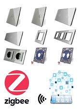 LIVOLO ZigBee WLAN Lichtschalter SmartHome Glas Touch Steckdosen uvm GRAU