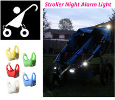 2015 New Night Silicone Caution Light Lamp For Baby Stroller Night Out Safety